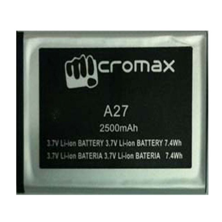 Micromax High Quality Replacement Battery For A27 Bolt