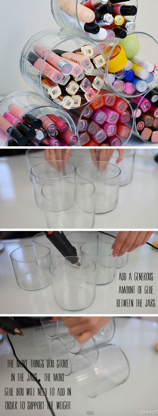 Makeup Diy Crafts diy makeup vanity projects