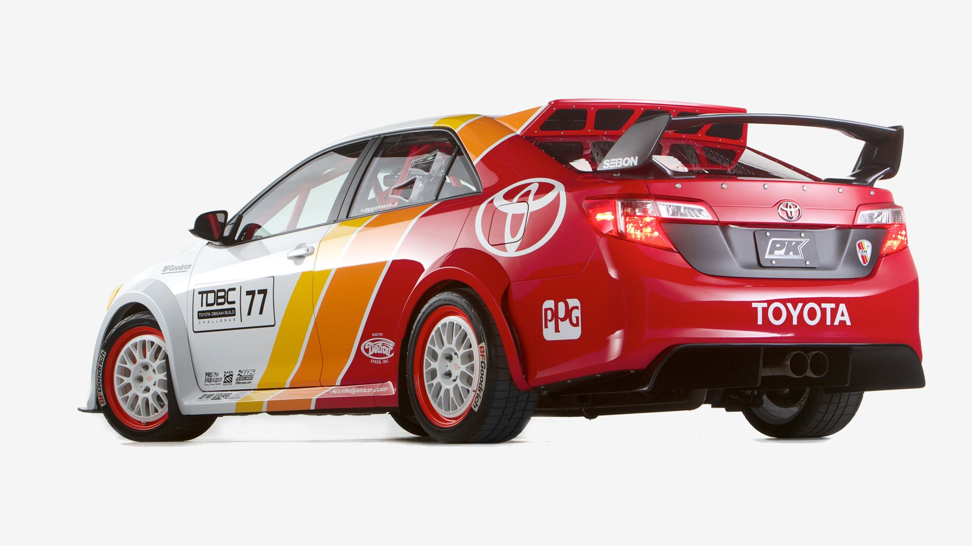 Toyota Camry Rally Car
