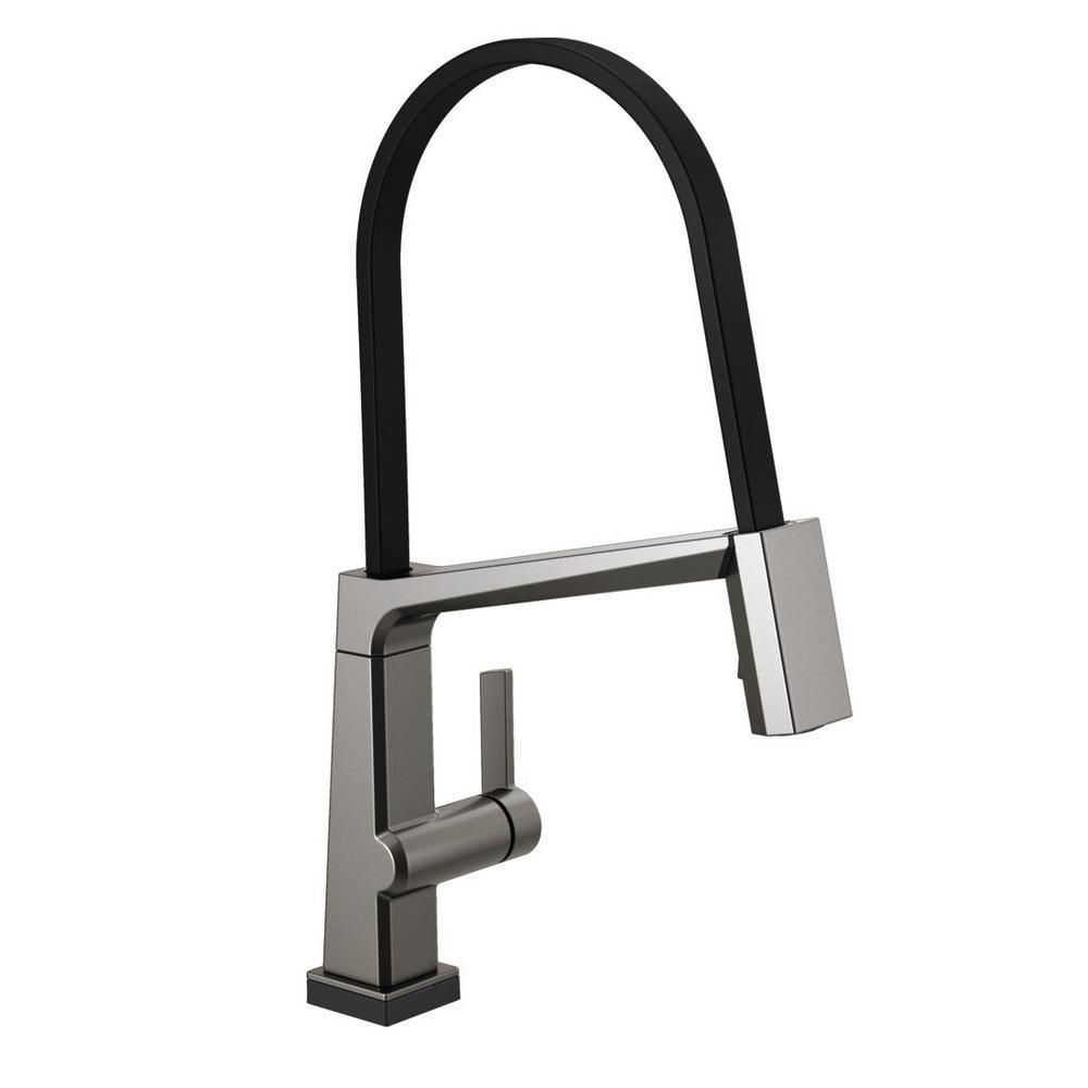 Single Handle Pulldown Kitchen Faucet With Touch2o