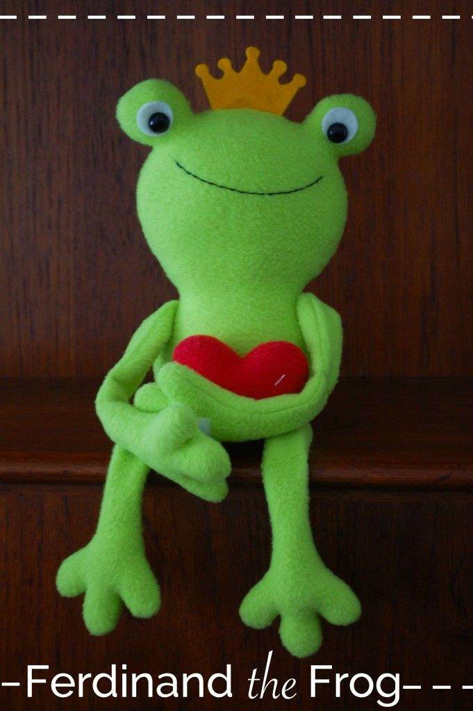Free Pattern: Ferdinand the Frog | Nähen | Pinterest