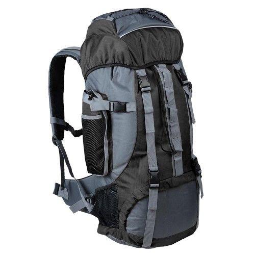 70L Big Outdoor Canvas Sport Rucksack Trekking Camping Backpack Travel Bags Pack