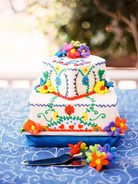 10 Cinco De Mayo Inspired Wedding Cakes Fiesta Pinterest