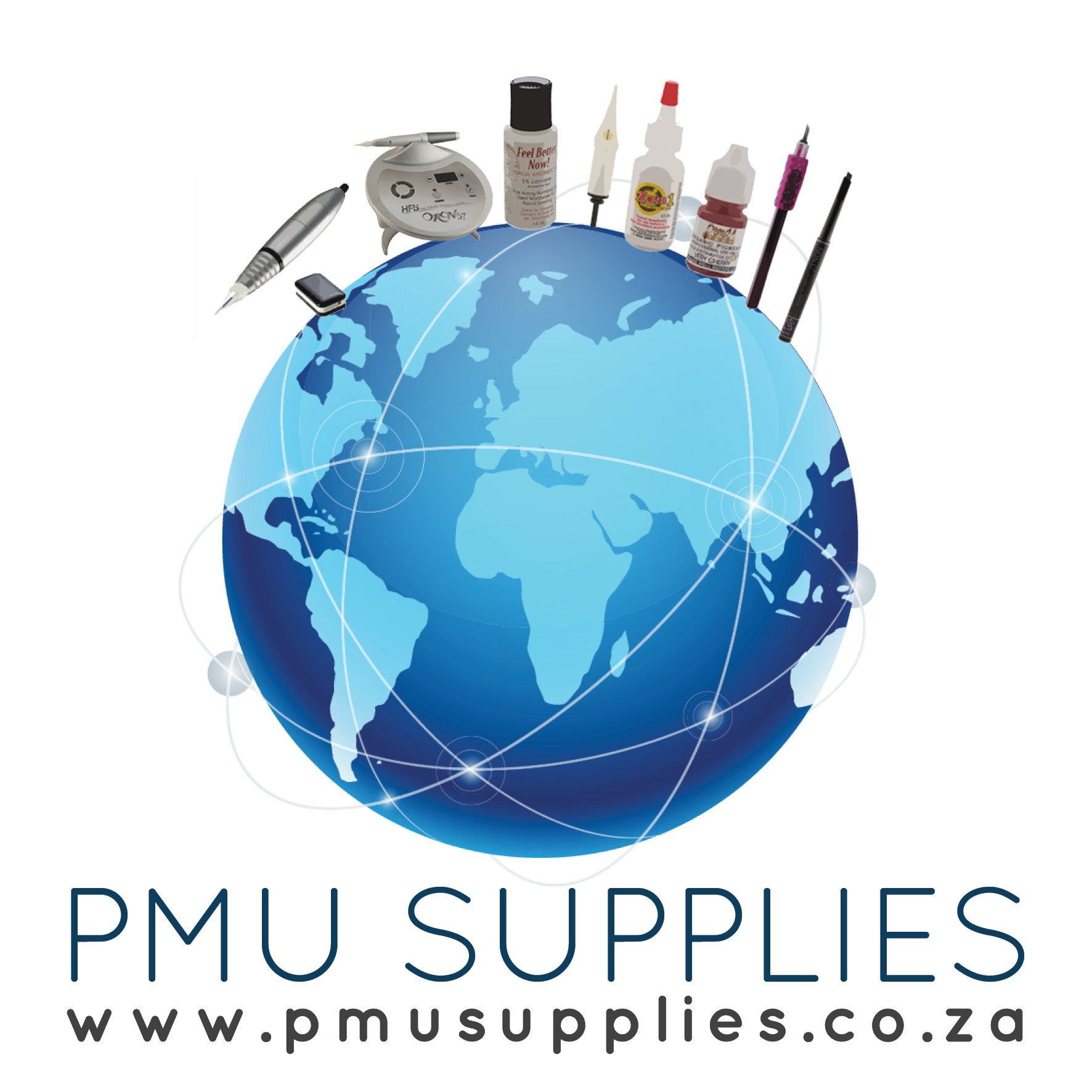 Home Permanent makeup supplies, Makeup supplies