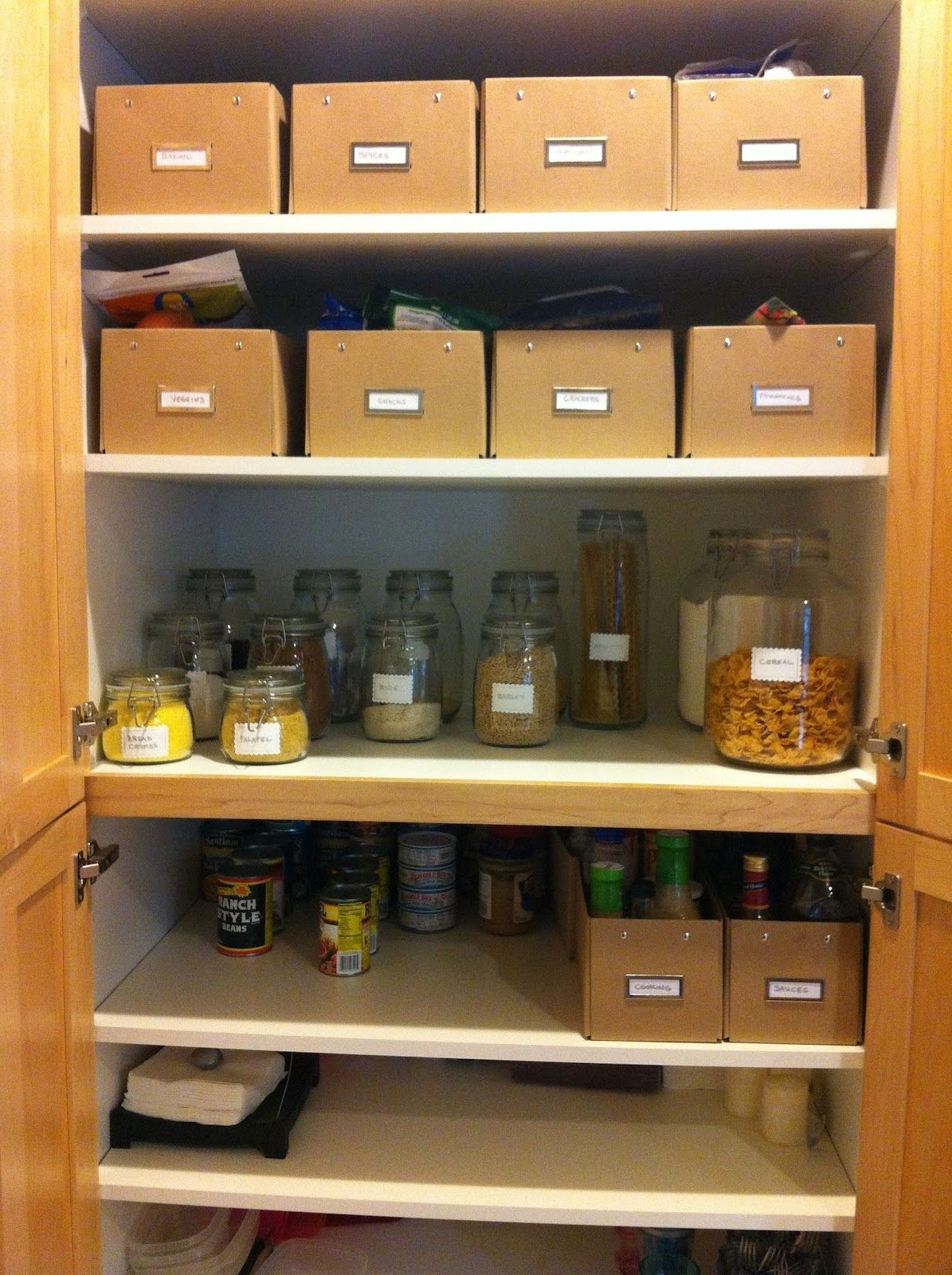 diy organization ideas home decor diy ideas organizing grocery cabinets westbro on kitchen decor organization id=70615