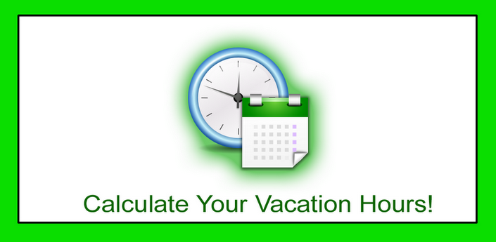 Calculate Your Vacation Hours   Simple calculator, App ...