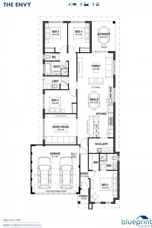Home designs the envy envy and house home designs the envy blueprint homes malvernweather Images