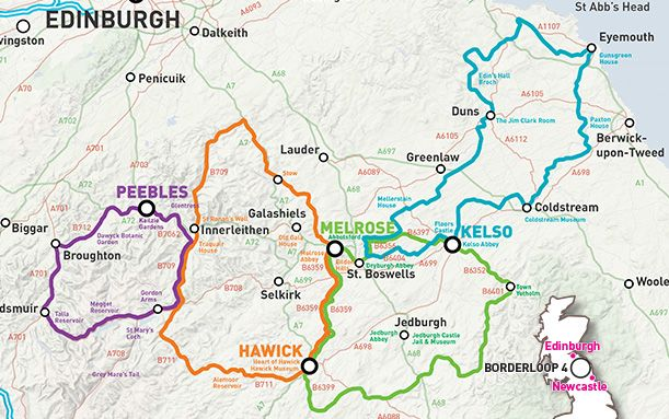 Scottish Borders Launches Four New Cycle Routes Cycling Route