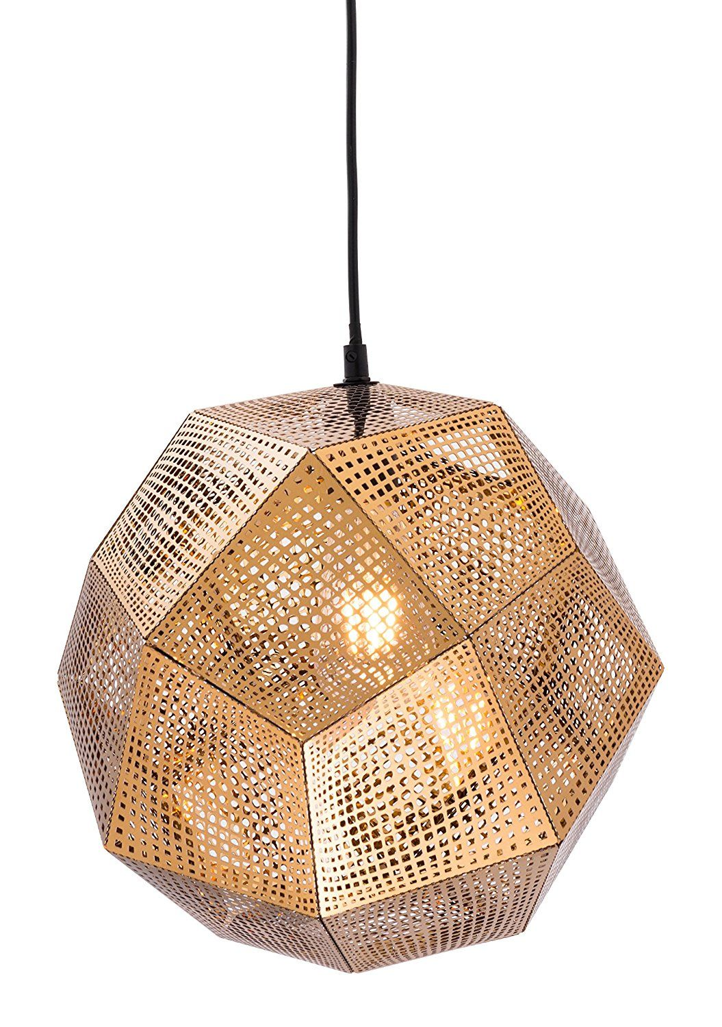 Amazon Zuo Modern Bald Ceiling lamp Gold Home & Kitchen