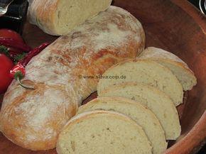 hausgemachtes italienisches Brot « kochen & backen leicht gemacht mit Schritt für Schritt Bilder von & mit Slava