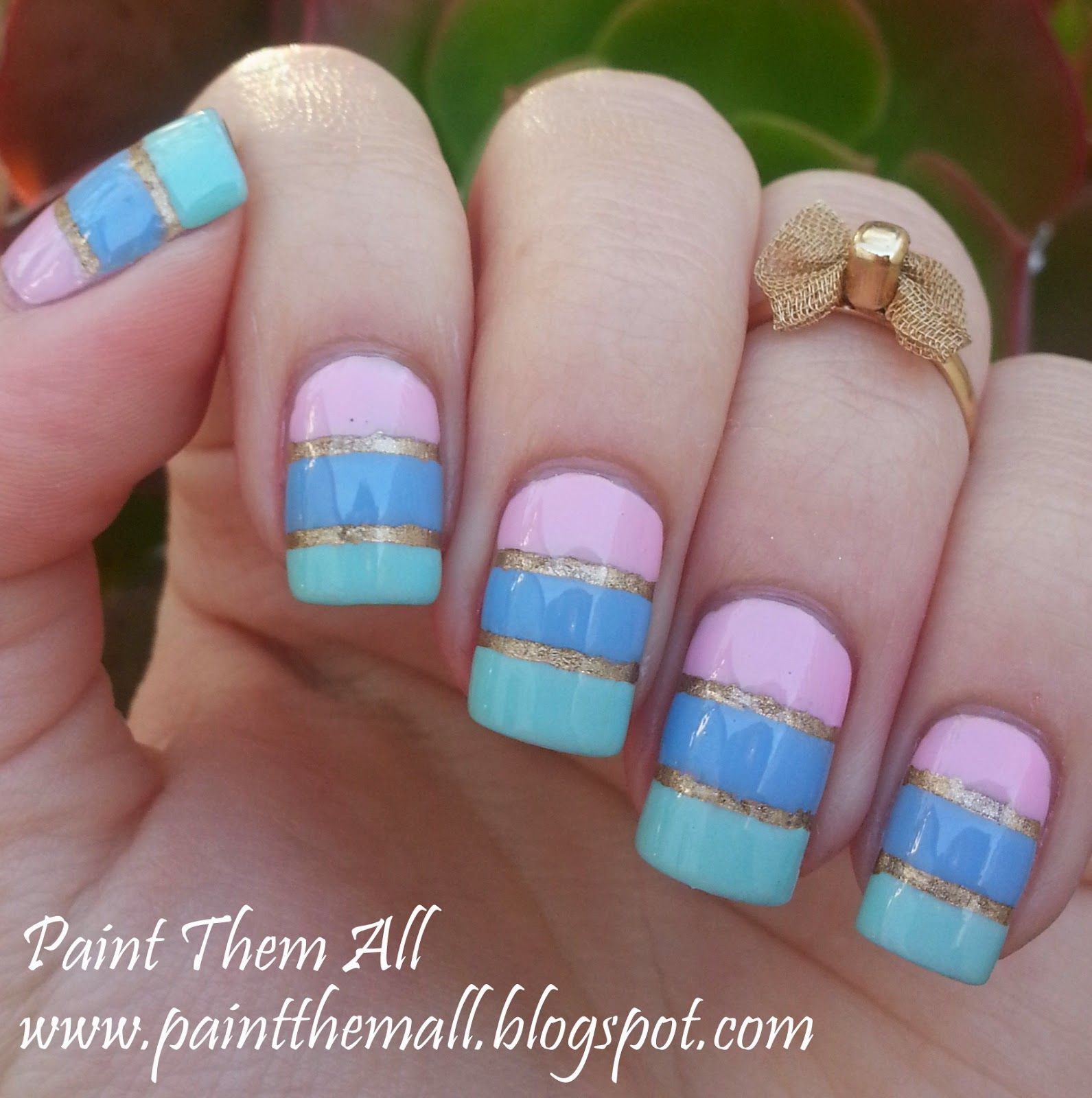 Paint Them All: Baby Pink And Mint Green   The Perfect Spring Color Combo