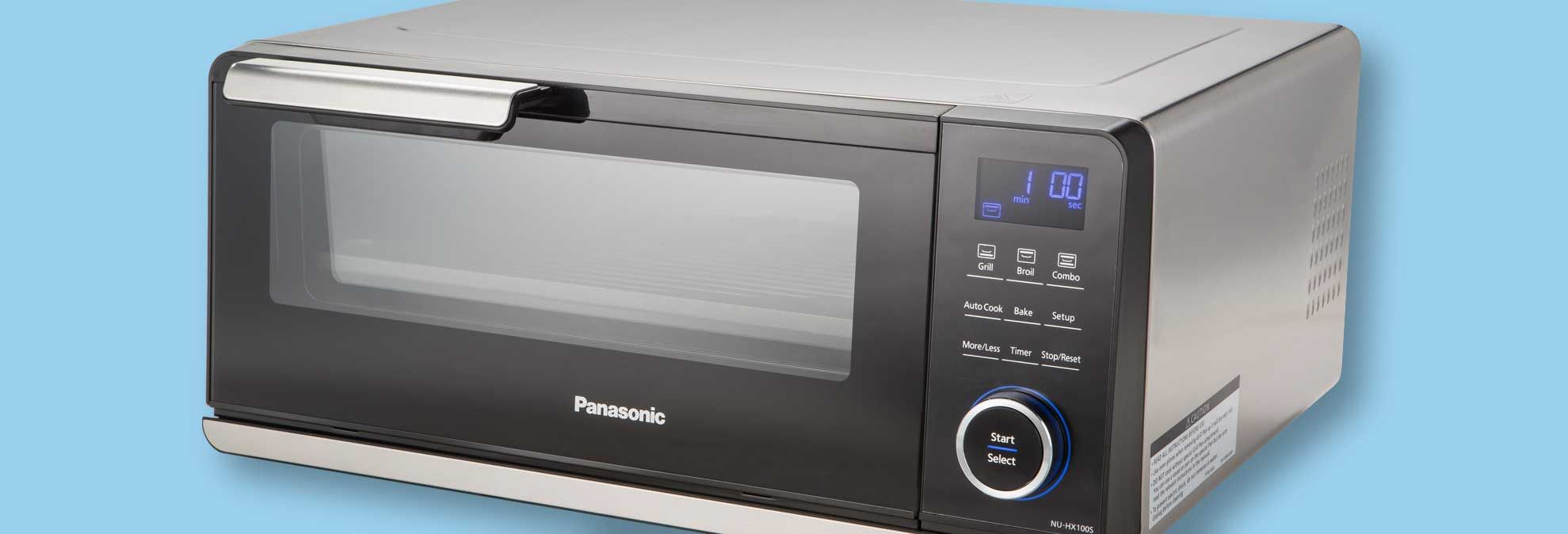 New Panasonic Countertop Induction Oven Speeds Cooking Induction