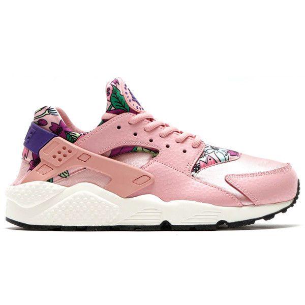 online retailer 4056d 27823 Nike Air Huarache Run Print Pink Glaze Purple Black Aloha Floral 725076 600   black  aloha  floral  purple  glaze  huarache  print  pink  nike