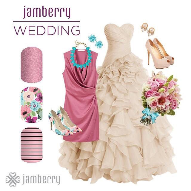 Need some wedding nail inspiration. Let's think outside the box!  JamWithRee.jamberrynails.com