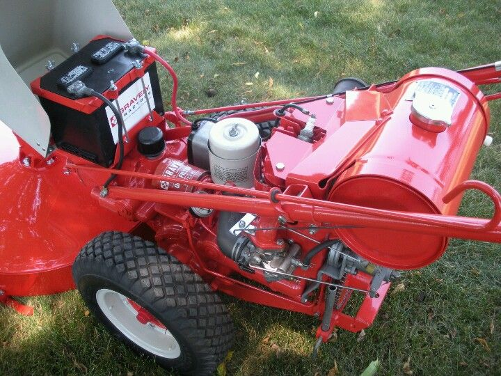 1964 Gravely L8 Walk Behind With 30 Mower Deck Bought By My Dad In The Late 70 S Restored By My Brother W Vintage Tractors Walk Behind Tractor Old Tractors
