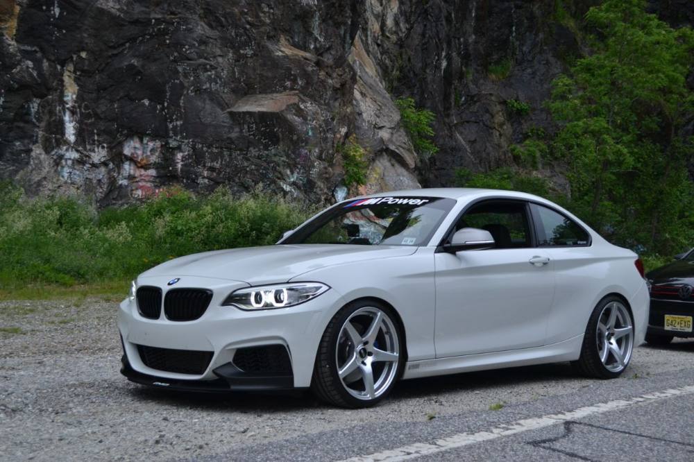 M235i With 19 Inch Wheels Ride Quality Tire Size Calculator 2015 Bmw M4 Tyre Size