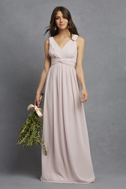 julie - polyester chiffon palest pink main. | Wedding-- Bridal Party ...