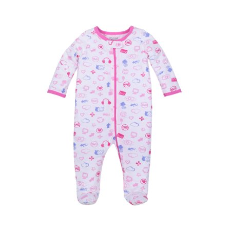 cef0ce128 Sleep N' Play Pajamas (Baby Girls), Size: Newborn, White   Products