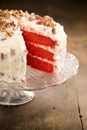 Grandmother Paul's Red Velvet Cake | Paula Deen #redvelvetcake