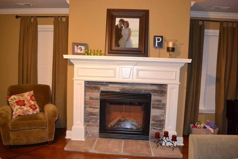 Decoration Modern Fireplace Mantels Large Decorative Mirrors For