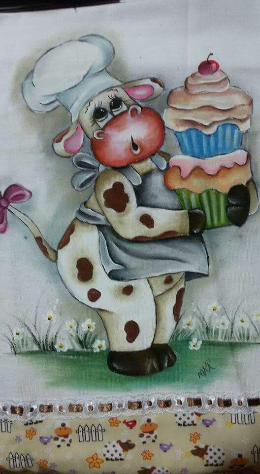 Pin von Maristela Rozolen auf vaquinhas | Pinterest | Kinderbilder ...