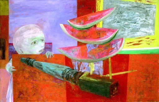 Forbidden Fruit - Yasuo Kuniyoshi