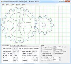 Gear template generator program saat pinterest generators gear template generator program maxwellsz