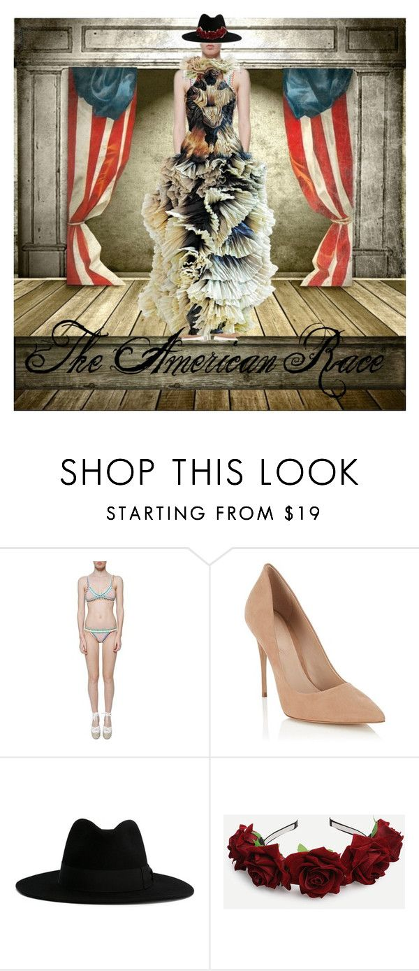 """The American Race"" by amor-mode on Polyvore featuring kiini, Lipsy, Alexander McQueen and Yves Saint Laurent"