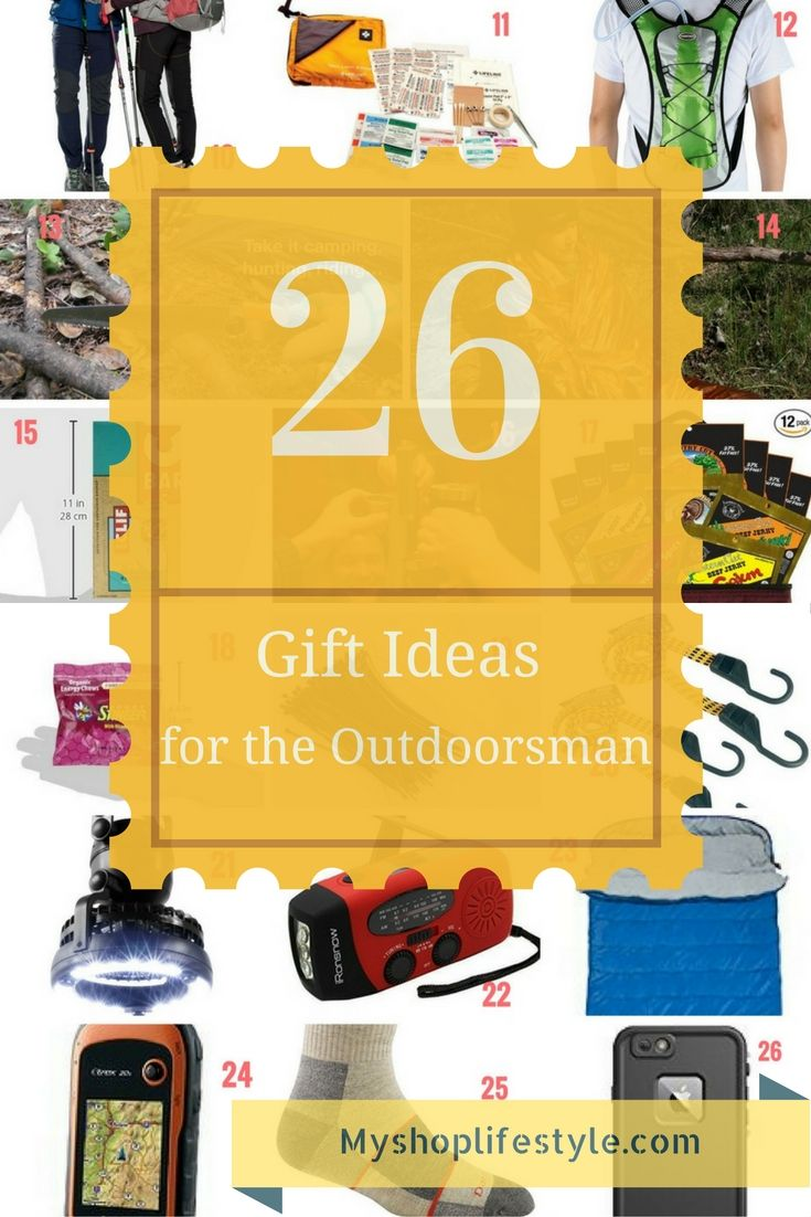 Christmas Gift Ideas For Outdoorsmen Part - 15: These Are Great Gift Ideas For The Outdoorsman Who Loves To Camp And Hike!  Here