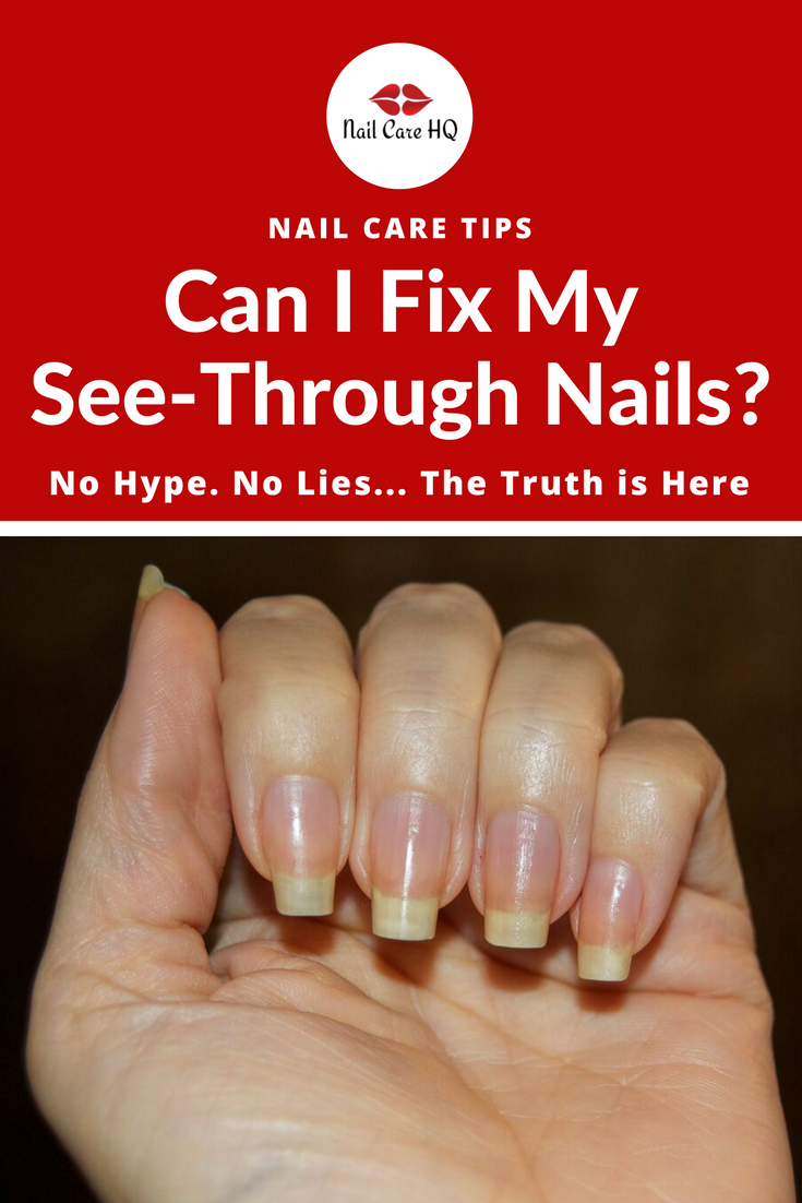 Ask Ana See Through Nails How Can I Fix It Nails Pinterest