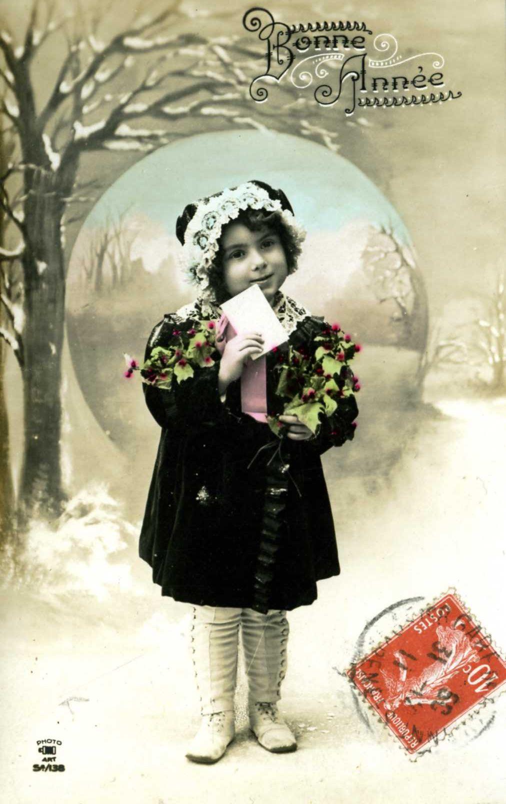 Vanha postikortti 1900-luvun alusta
