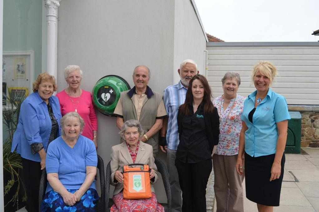 A new defibrillator in Cornwall, located at Falmouth's Princess Pavilion and made accessible for 24/7/365 by our heated outdoor cabinet. Well done and what a great story and example of community involvement and commitment.