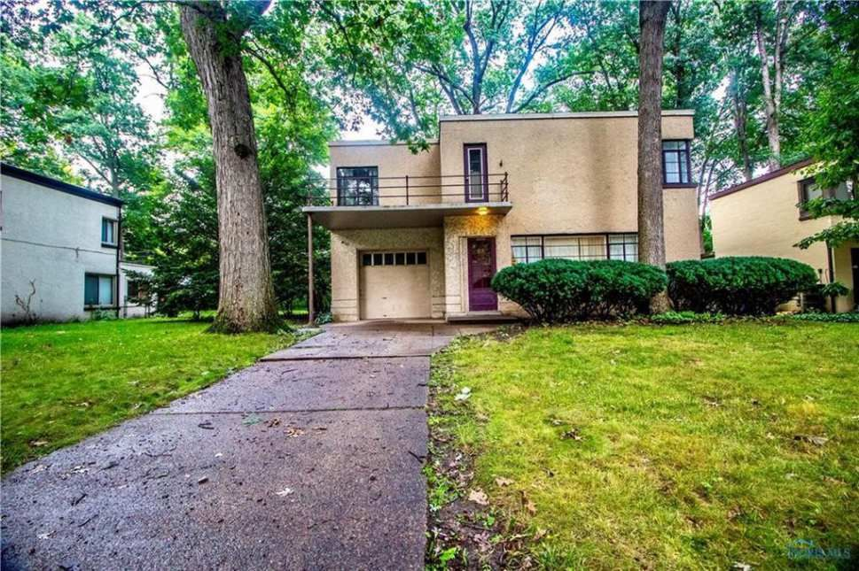 1934 modernistic toledo oh old house dreams art deco