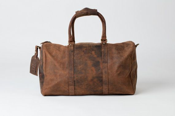 LEATHER HOLDALL / weekend bag / weekender / overnight by HOUSEofLH