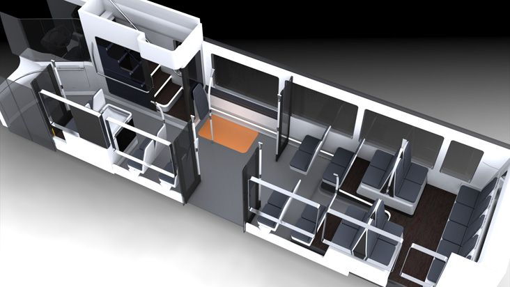 Rapta double decker bus interior | For the Motorhome/Camper ...
