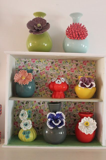 Marvelous Anthropologie Vase Collection #floral @Tracy Stewart Stewart Stewart Gatto Awesome Ideas