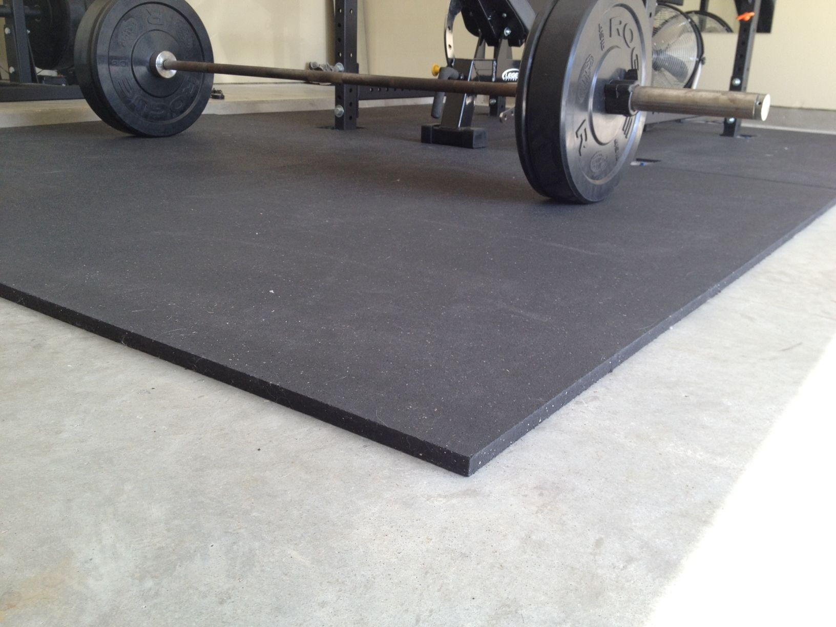 Rubber gym mats for my garage flooring fitness