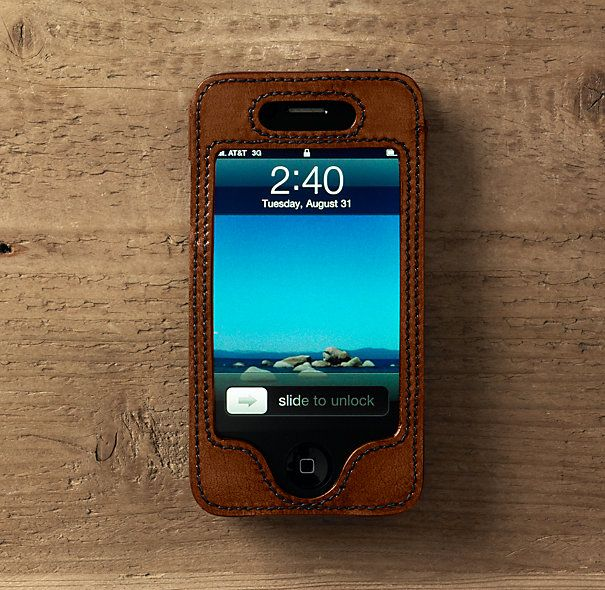 Restoration Hardware Artisan Leather iPhone Cover