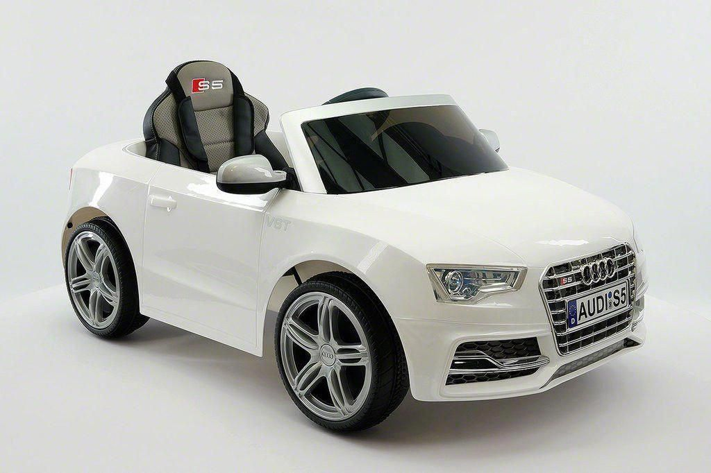 Audi s5 sport ride on toy with a 12 volts powerful battery