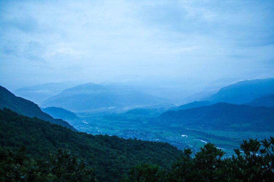 Sarangkot & Pokhara – Ein Ort zum Entspannen  Hier in Pokhara kann man endlich durchatmen - kein Smog oder nerviges Dauerhupen...