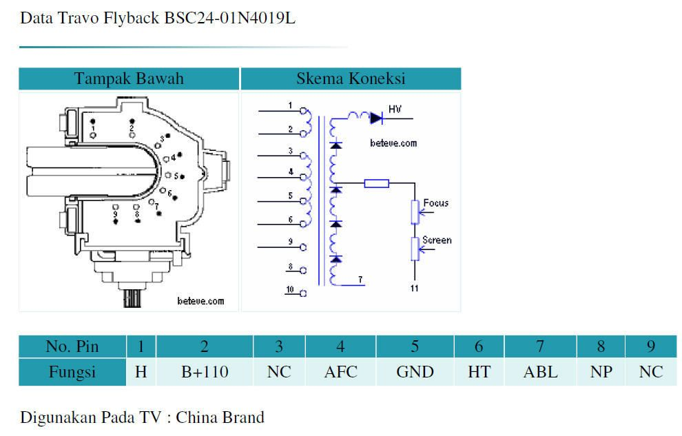 flyback transformer wiring diagram flyback transformer pinout yahoo image search results  with  flyback transformer pinout yahoo