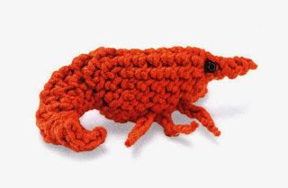 Share Knit and Crochet: Crochet Red Shrimp