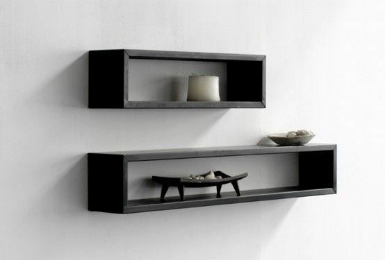 Ideas decorative wall shelves shelving ideas diy floating - Wall mounted shelving ideas ...