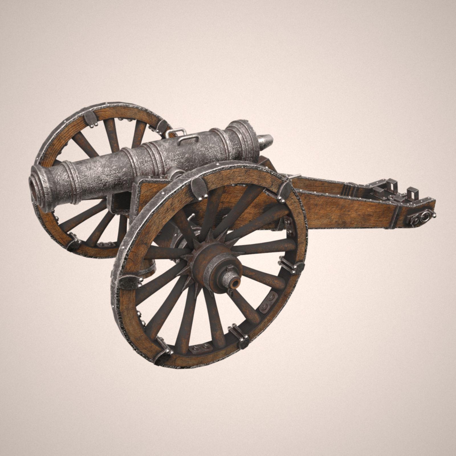 Cannon unicorn 3d model cannon 3d model model making