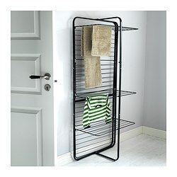 Wäscheständer Ikea mulig wäschetrockner 4stufig innen außen schwarz ikea wohn
