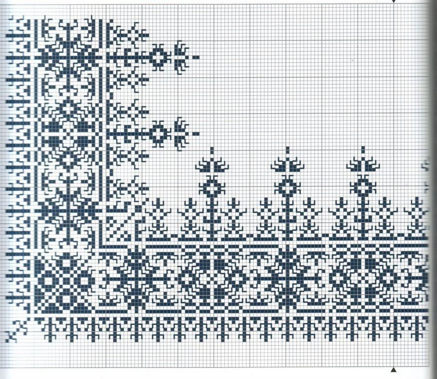 Charted pattern. Can be used for knitting cros stitch etc.