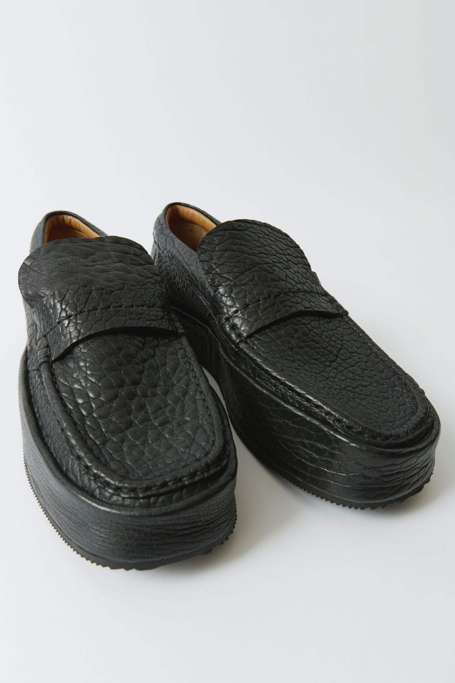 Acne Studios - Minimal loafers Black