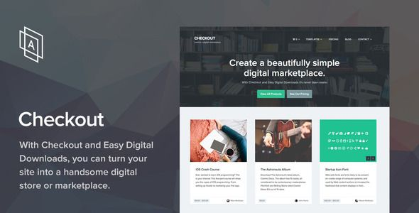 Checkout v2.0.8 WordPress eCommerce Theme Blogger Template | Web ...