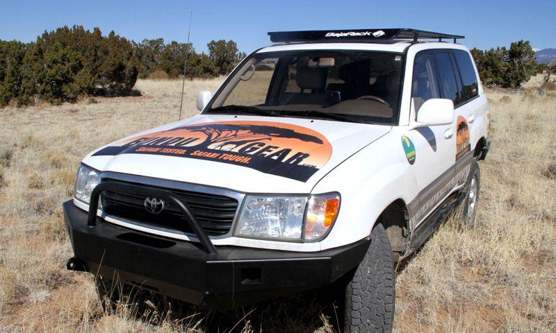 Land Cruiser 100 Utility Flat Rack Land Cruiser