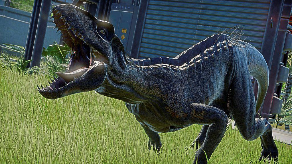 Indoraptor Jurassic World Evolution Background By Armorkingtv21 On Deviantart Jurassic World Jurassic Evolution